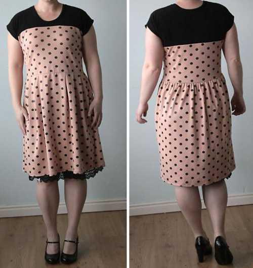 построение выкройки прямой классической юбки
