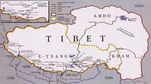 священная гора в тибете кайлас